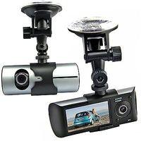 "Car Camera DVR GPS Logger + Duel Lens 100% Original X3000 Car DVR G-sensor 2.7""LCD G-sensor Car Video Registrator Drop Shipping"