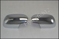 Free shipping! ABS chrome side door rearview mirror cover Trims for Toyota Land Cruiser Prado FJ120 2003-2009