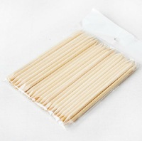 100pcs nail wood sticks art uticle the Pusher callus remover decoration Pedicure Manicure tools salon or DIY use free shipping