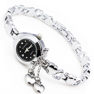 Kimio quartz watch fashion watches heart bracelet watch fashion table ladies watch 018(China (Mainland))