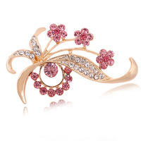 Accessories brooch rhinestone pin corsage brooch quality crystal brooch
