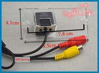 Car CCD camera car night vision waterproof camera for Kia Sportage 2008/2009/2011/2012 HD camera Free shipping!!!
