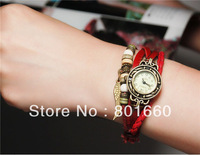 WOMAGE 630 Women's Fashionable Analog Leaf Watch From Allanhua Shop 50pcs/lot