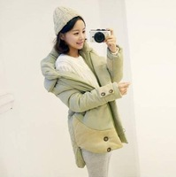 Overcoat down coat medium-long wadded jacket outerwear female winter
