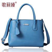 Goelia bags 2013 women's cowhide fashion shoulder bag fashion handbag cross-body women's handbag 052l