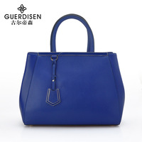 2013 cowhide big bags shield bag women's handbag fashion handbag women's bags bridal bag