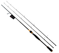 Trulinoya Kaiyue II Spinning Fishing Rods 2.1m with M/ML Two Tips
