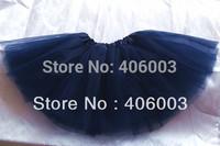 Free shipping navy blue tutu