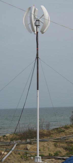 Vertical axis wind generator,Vertical Wind Turbine,100W,intelligent ,Lantern Sytle,High Efficiency(China (Mainland))