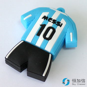 M-181 WholesaleHot Cheap Enough Cartoon NO.10 Jersey 4GB 8GB 16GB 32GB 64GB USB 2.0 Flash Memory Stick Drive Thumb/Car/Pen Gift
