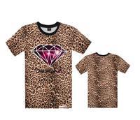 Men's Diamond Supply co t shirts Hip hop Brand short sleeveT-Shirt Men's fashion Clothes Floral Leopard Hip hop tees 100% cotton