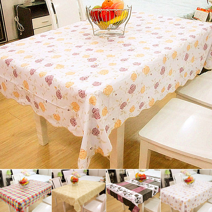 HOT! Factory price Table cloth dining table cloth tablecloth cushion chair cover rustic romantic lace cloth set Free Shipping(China (Mainland))