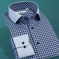 Deep sea deepocean autumn male long-sleeve shirt men's clothing plaid shirt
