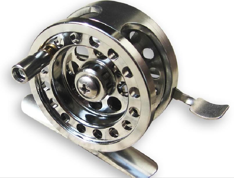 Former full metal ultra-light former fish wheel full metal fly fishing reel wheel(China (Mainland))