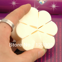 400pcs New !! Pro Beauty Makeup sponge puff Sponge Blender Flawless Smooth Shaped Cosmetic Flower Puff S0010