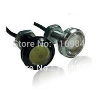 2pcs *  Car Motorcycle 10W LED Eagle Eye Backup Light DRL Running Lamp Black/silver