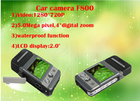 1080P Full HD Car DVR Camera Ambarella 2.0''TFT LCD Waterproof Night Vision Dash Car DVR F800