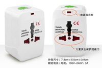 Travel Adapter Universal World AC Power Socket Plug  US EU UK extension International travel outlet  free shipping