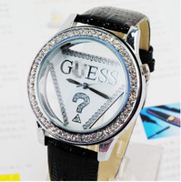 New Arrivals Women Watches, leather Crystal triangle Watches,Fashion Gift for  Ladies Free Shipping