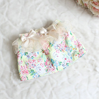 New summer,girls lace skirts,children summer skirts,lace flowers,appliques,a-line,2-6 yrs,5 pcs/lot,wholesale kids clothing,0327