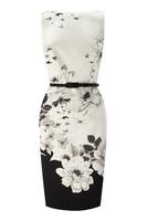 2013 new dress high quality fashion ladies positioning printed temperament Slim was thin dress S-XXL