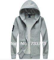 The new 2013 / zipper autumn and winter menswear brand clothing, polo cardigan sweater jacket hoodie men's Sportswear