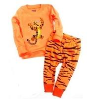 Fashion Baby Pajamas Set Children Pyjamas, ,BABY clothing set Children Sleepwear Tigger suit (1design x 6 sizes)
