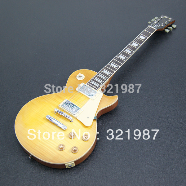 Wholesale - 2013 Hot Selling Light TS Tiger stripes standard model Electric guitar in stock(China (Mainland))