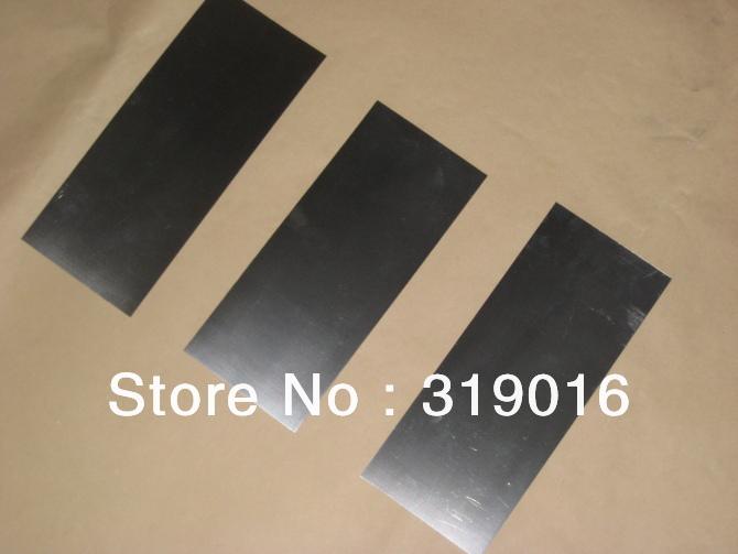 Nitinol Sheet Stock 50 20 5mm Sheet of Nitinol