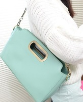 Free/drop shipping 2013 Fall new arrival women handbag Multi function BAG Totes or Shoulder bag PU leather bag candy bag