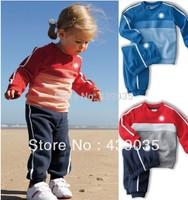 SH322P wholesale children sport suit 2pcs set children cloth brand children clothing sport set children autumn set Free shipping