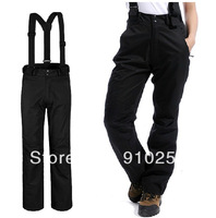 New arrival 2013 brand 2-layers outdoor sport ski suit pants women winter sportswear snowboard suspenders trousers