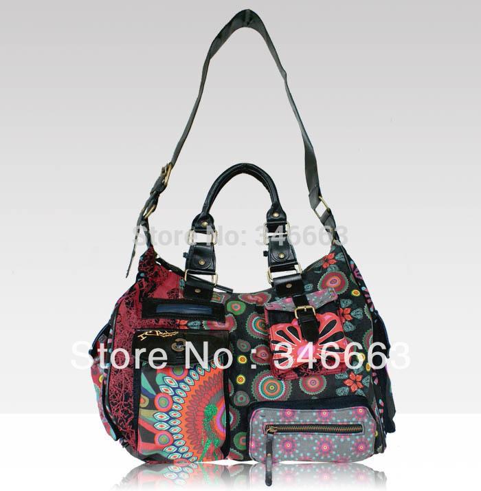 Desigual Womens Handbag Messenger Shoulder Bag 42