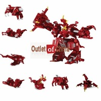 Free shipping 12pcs x Battle 7 in box Maxus Dragonoid  Combined into Massive Battle Monster