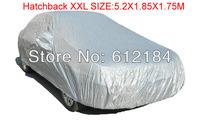 Big size Universal Anti UV Rain Snow Resistant Waterproof Outdoor Car Cover Hatchback XXL 5.2X1.85X1.75M Car Covers