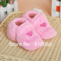 Soft Boa The Baby Shoe Covers Coral Fleece Baby Shoes Warm Socks Prewalker Baby Products Free Shipping