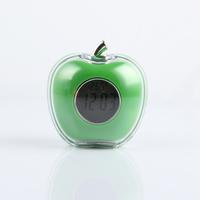 Apple Talking Clock red diamond promotional novelty creative household automatic timekeeping Digital Voice Alarm