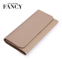 Fancy 2013 fashion cross design brief cowhide long wallet dinner day clutch hasp wallet female