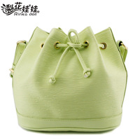 Pear doll candy color hydrowave , dsmv tassel drawstring macaron bucket bag women's handbag shoulder bag