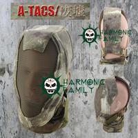 Tactical Full Face  Metal Mesh Mask