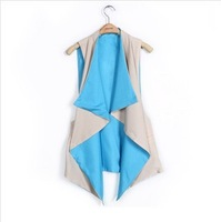 2013 new Korean wild irregular women vest chiffon vest female!
