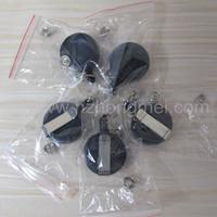 best seller Retractable yoyo badge reel (80pcs one lot)(black) for Vanessa Jin