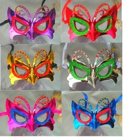 Small butterfly mask ball cosmetic props halloween mask
