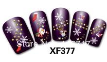 popular christmas nail sticker