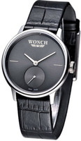 Free shipping fashion casual black strap pin male watch w8904