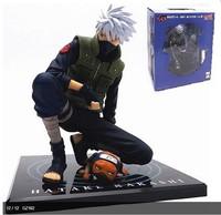 Free shipping Anime GEM Series Naruto naruto Shippuden Hatake Kakashi Ver.2  PVC Figure doll toy gift New in box