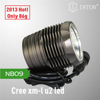 Hot selling !!! Shenzhen factory direct sale INTON waterproof and shake-proof cree xml t6 led bicycle light