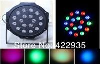 1W*18 High Power RGB LED Par Stage Light Wedd Lighting DJ Lighting DMX512 Master-Slave Stand-Alone Free Shipping