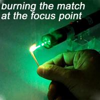 50mW forest green handheld laser pointer  520nm