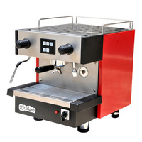 KT-6.1 KITSILANO S.steel surface semi-automatic type espresso coffee machine for office